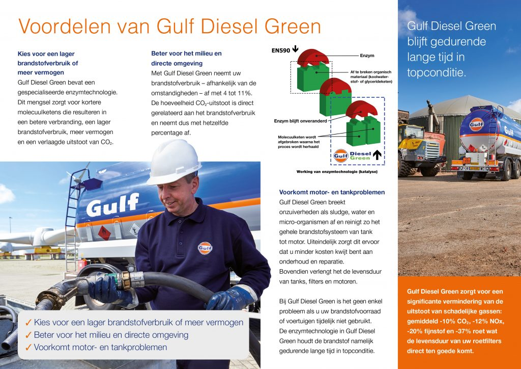 Voordelen Gulf Diesel Green