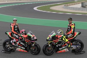 MotoGP Aprilia Gulf