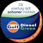 Gulf Diesel Green schone diesel